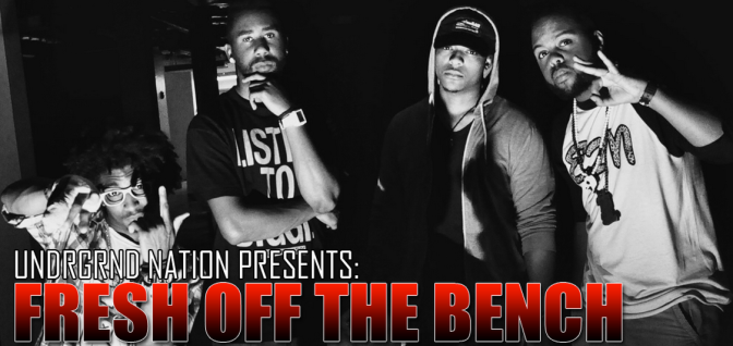 "UNDRGRND Exclusive: Cover Art Released for ""Fresh Off The Bench: The Cypher"""